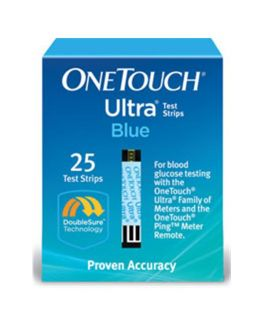 OneTouch Ultra Blood Glucose Test Strip 25 Count 25/Bx