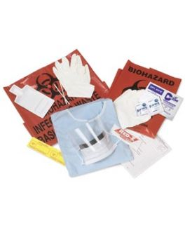 Blood & Body Fluid Spill Kits, 6/cs (Continental US Only)