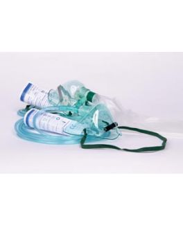 7 ft Oxygen Tubing, T Piece & Mouthpiece, 6 Corrugated Hose, Single Patient Use, 50/bx