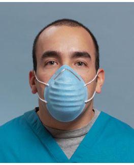 Earloop Mask, White, 50/bx, 10 bx/ctn