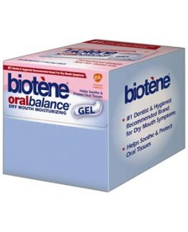 Biotène® Dry Mouth OralBalance® Gel, 0.11 oz. Sachet, 25 sachets/dispenser box, 4 boxes/cs (Available for sale in US only) GSK# 10061 (Products cannot be sold on Amazon.com or any other third Party sites.)