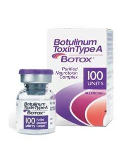 Botox® Therapeutic Botulinum Toxin Type A (onabotulinumtoxinA) 100 Units Injection Single Use Vial