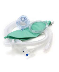 McKesson Anesthesia Circuit Expandable Tube 96 Inch Tube Dual Limb Adult 3 Liter Bag Disposable