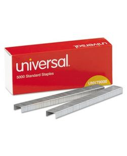 Standard Chisel Point 210 Strip Count Staples, 5,000/Box, 5 Boxes per Pack (PK/1)
