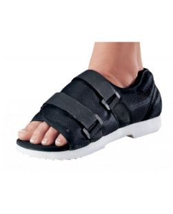 Cast Shoe ProCare X-Small Black Unisex-SHOE MED/SURG WOMENS XSM