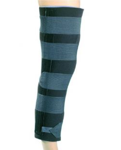 Knee Immobilizer PROCARE® Quick–Fit® One Size Fits Most Hook and Loop Closure 20 Inch Length Left or Right Knee