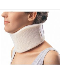 Cervical Collar PROCARE® Medium Density Small Contoured Form Fit 3 Inch Height 18-1/2 Inch Length 11 to 16 Inch Circumference 11 to 16 Inch Circumference