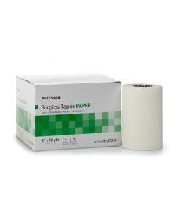 Medical Tape McKesson Paper 3 Inch X 10 Yard White NonSterile