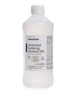 Isopropyl Rubbing Alcohol 70%, USP, 16 oz, 12 btl/cs