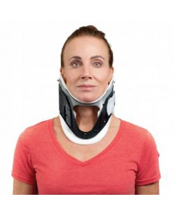 Cervical Collar Patriot® Soft Density One Size Fits Most One Piece Adjustable Height-COLLAR, CERVICAL PROCARE 1PC ADLT