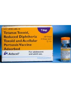 Adacel® Tdap Vaccine 10 to 64 Years of Age Tetanus Toxoid, Reduced Diphtheria Toxoid and Acellular Pertussis Vaccine, Adsorbed, Preservative Free Injection Single Dose Vial 0.5 mL