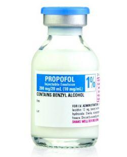 Propofol 1%, 10 mg / mL Intravenous Injection Single Dose Vial 50 mL