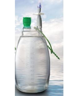 Evacuated Drainage Bottle Accel Plastic