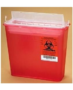 ARKRAY ASSURE® SHARPS CONTAINER  5 Qt H Style Sharps Container