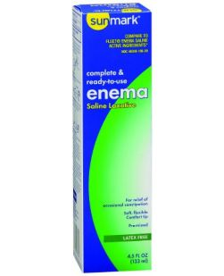 Enema 4.5 oz, Twin Pack, 12/cs (Continental US Only)