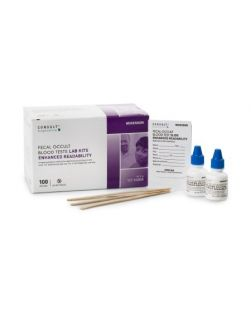 Each Kit Contains: 30 Tests, 30 Capillary Tubes, 1 Developer Solution, 1 ea Positive & Negative Control, 1 Product Instruction, 4kit/cs (Minimum Expiry Lead is 90 days)