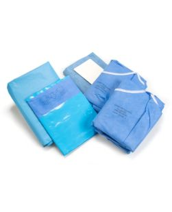 Cardiovascular Set-Up Pack, Back Table Covers, Bilateral Split Sheet, Utility Drapes, Mayo Stand Cover, Suture Bag, 7/bx, 2 bx/cs (US Only) (To Be DISCONTINUED)