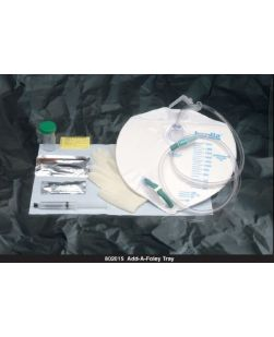 Add-A-Foley Tray, 10cc Prefilled Syringe, 3502 Drain Bag, 10/cs (Continental US Only)