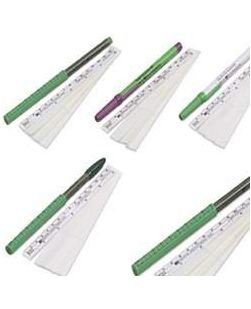 Surgical Skin Marker 158-R, Ruler Cap, Dual Tip, Flexible Ruler, 25/bx, 4 bx/cs (Continental US Only)