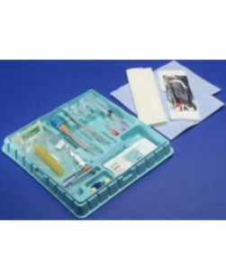 Arthrogram Tray with Safety Components, Sterile, 10/cs