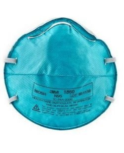 Particulate Respirator, N95, Unvalved, Economy, 20/bx, 8 bx/cs (US Only)