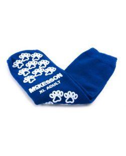 Adult Slipper Socks, Purple, 48 pr/cs (custom imprinted)