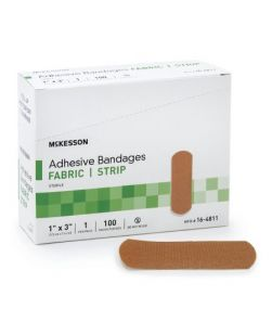 Adhesive Bandage, Finger Tip, 1¾ x 2, 100/bx, 12 bx/cs (54 cs/plt)