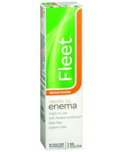 Fleet Mineral Oil Enema, 4.5 oz, 48/cs (Continental US Only)