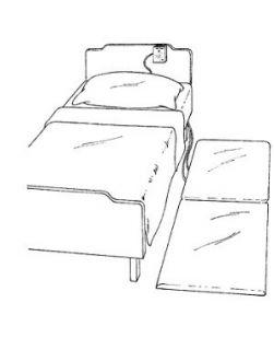 Bedside Floor Mats, 24 x 70 x 1,   3/cs