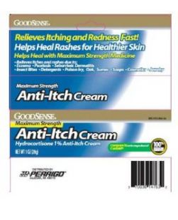 Anti-Itch Cream, Maximum Strength, 1 oz, 6/bx, 6 bx/cs (Continental US Only)