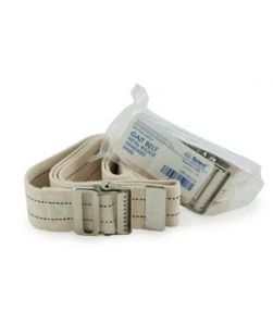 Gait Belt, Metal Buckle, 60 x 2,   Natural Color 1/bg, 36 bg/cs