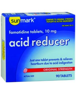 Acid Reducer 10mg Tablets, 30s, Compare to the Active Ingredient of Pepcid AC®, 6/bx, 4 bx/cs (UPC01512701169) (Continental US Only)