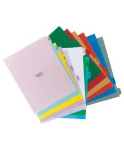 10 Tab/Set Divider Sets