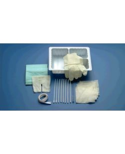 Tracheostomy Care Set, Extra Towel & 2 Extra Pipe Cleaners, 24/cs