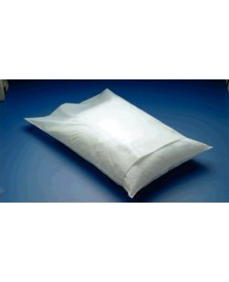 Pillowcase, 22 x 30, White Spunbound, Individually Folded, 100/cs