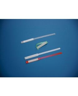 Adult Insert Card Band with End Tab, 3½ x ¾, Specify Color: (10) Clear, (11) White, (15) Green or (16) Red, 250/bx
