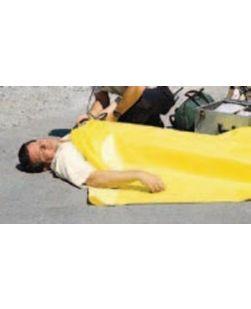 Emergency Blanket, 56 x 90, Bright Yellow, 24/cs