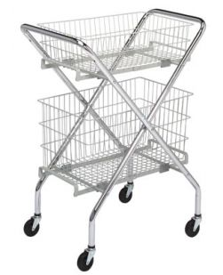 Utility Cart, Multi-Purpose, 6 Basket For #63400, 2/ctn