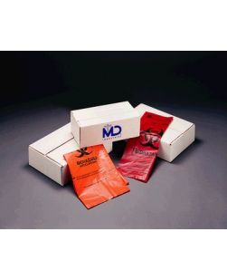 Bag, Orange, 14 x 19, External Indicator, Maximum Autoclave Temp. 280°F, 200/cs