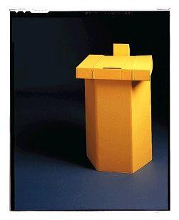 Hamper Stand, 17 x 15 x 25, Yellow, 10/cs