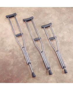 Adult Crutches, 8 pr/cs