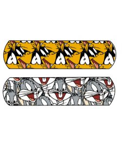 Looney Tunes? Bugs Bunny? & Daffy Duck? Assorted, Stat Strip®, ¾ x 3, 100/bx, 12 bx/cs
