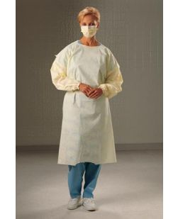 Cover Gown, Yellow, Universal, Note: Can Be Used In The PPE Dispensing System, 100/cs (12 cs/plt)