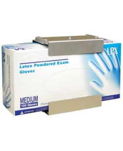 Adjustable Glove Box Holder, Anodized Aluminum, 2/pk