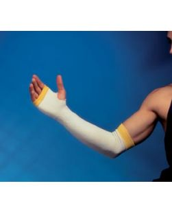 Arm Protector Small Medium 18-20L x 3W Yellow Band 12 prbx
