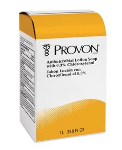 Provon® NXT® Antibacterial Lotion Soap, Medicated with Triclosan, 2000 ml, Gold, 4/cs