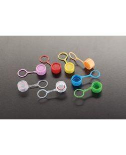 Caps, Lip Seal & Loop, Blue, 1000/cs