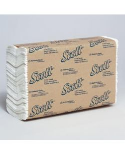 Scott C-Fold Paper Towels, 1-Ply, 200/pk, 9 pk/cs