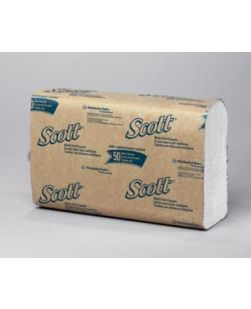 Scott Multi-Fold Towels, 1-Ply, 250 sheets/pk, 16 pk/cs (54 cs/plt)