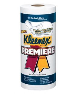 Kleenex® Premiere Center-Pull Towels, 8 x 15, White, 250/rl, 4 rl/cs